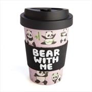 Panda Eco-to-Go Bamboo Cup | Homewares
