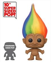 "Trolls - Rainbow Troll with Hair 10"" Pop! Vinyl | Pop Vinyl"