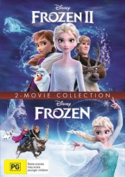 Frozen 1 And 2 - 2 Movie Collection | DVD