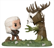 The Witcher 3: The Wild Hunt - Geralt vs Leshen US Exclusive Pop! Moment [RS] | Pop Vinyl