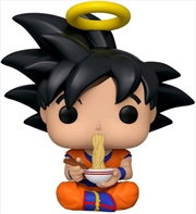 Dragon Ball Z - Goku Eating Noodles US Exclusive Pop! Vinyl [RS] | Pop Vinyl
