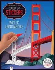 World Landmarks | Colouring Book