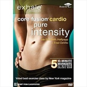Exhale Core Fusion Cardio Pure Intensity | DVD