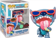 Lilo & Stitch - Stitch Summer Scented US Exclusive Pop! Vinyl [RS] | Pop Vinyl