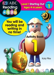 ABC Reading Eggs Level 1 Starting Out Activity Book 1 Ages 4-6 | Paperback Book