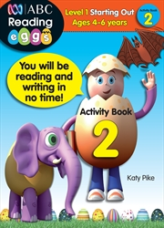 ABC Reading Eggs Level 1 Starting Out Activity Book 2 Ages 4-6 | Paperback Book