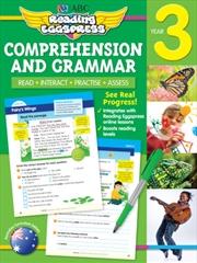 ABC Reading Eggspress Comprehension and Grammar Workbook Year 3   Paperback Book