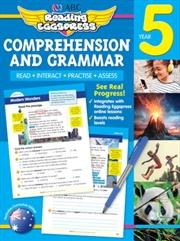 ABC Reading Eggspress Comprehension and Grammar Workbook Year 5   Paperback Book
