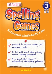 Blake's Spelling Games Disk 3 Ages 8-9 | Audio Book