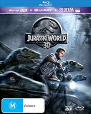 Jurassic World | 3D + 2D Blu-ray + UV | Blu-ray 3D