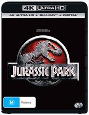 Jurassic Park | Blu-ray + UHD + DHD | UHD