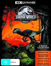 Jurassic Park / Jurassic Park - The Lost World / Jurassic Park III / Jurassic World / Jurassic World | Blu-ray/Digital/Hd
