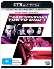 Fast And The Furious - Tokyo Drift | Blu-ray + UHD + Digital Copy, The | UHD