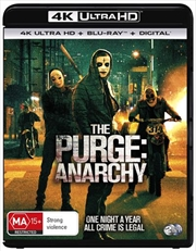 Purge - Anarchy | Blu-ray + UHD, The | UHD