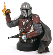 Star Wars: The Mandalorian - Mandalorian 1:6 Scale Bust | Merchandise