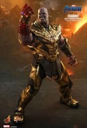 "Avengers 4: Endgame - Thanos Battle Damaged 1:6 Scale 12"" Action Figure | Merchandise"