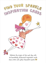 Find Your Sparkle Inspiration Cards | Merchandise