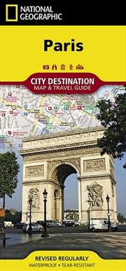 Paris City Destination Map - National Geographic Destination City Map | Sheet Map
