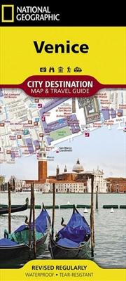 Venice City Destination Map | Sheet Map