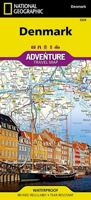 Denmark - National Geographic Adventure Travel | Sheet Map