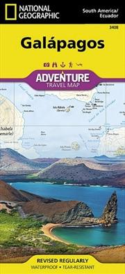 Galapagos Islands Adventure Map | Sheet Map