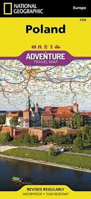 Poland Adventure Map | Sheet Map