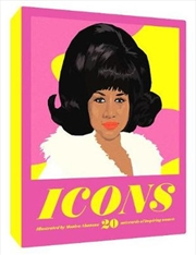 Icons Notecards - 50 Legendary Women in Music Notecards | Merchandise