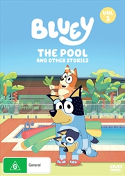 Bluey - The Pool And Other Stories - Vol 3 | DVD