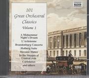 101 Great Orchestral Classics Vol 1 | CD