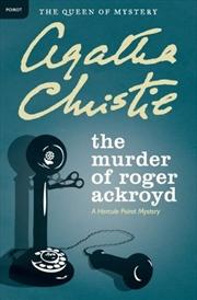 Murder Of Roger Ackroyd: Poirot | Paperback Book