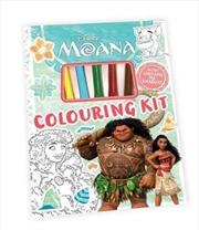 Moana: Colouring Kit | Paperback Book
