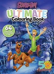 Scooby Doo: Ultimate Colouring | Paperback Book