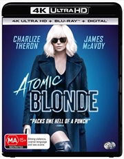 Atomic Blonde | Blu-ray + UHD + UV | UHD