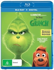 Grinch | Blu-ray + Digital Copy, The | Blu-ray