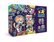 Piece It Together Family Puzzle: Catstronauts | Merchandise