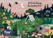 All Good Things Are Wild and Free 1,000-Piece Puzzle | Merchandise
