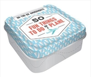 On-the-Go Amusements: 50 Fun Things to Do on a Plane | Merchandise