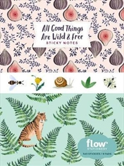 All Good Things Are Wild and Free Sticky Notes | Merchandise
