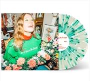 Crushing - Clear Green And White Splatter Vinyl (BONUS CIRCULAR CRUSHING STICKER) | Vinyl