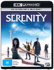 Serenity | Blu-ray + UHD + UV | UHD