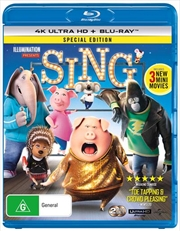 Sing - Special Edition | Blu-ray + UHD | UHD