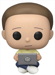 Rick and Morty - Morty with Laptop US Exclusive Pop! Vinyl [RS] | Pop Vinyl