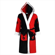 Batman - Harley Quinn Hooded Fleece Bathrobe | Miscellaneous