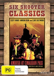 Ambush At Cimarron Pass | Six Shooter Classics | DVD
