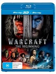 Warcraft - The Beginning | 3D + 2D Blu-ray | Blu-ray 3D
