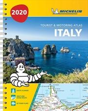 Italy Atlas 2020 Tourist & Motoring Atlas (A4-Spiral) | Paperback Book