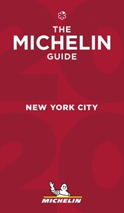 New York 2020 The Michelin Red Restaurant & Hotel Guide | Paperback Book