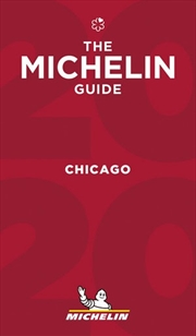 Chicago 2020 The Michelin Red Restaurant & Hotel Guide | Paperback Book
