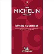 Nordic Countries 2020 The Michelin Red Restaurant & Hotel Guide | Paperback Book