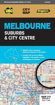 Melbourne Suburbs And City Cen | Sheet Map